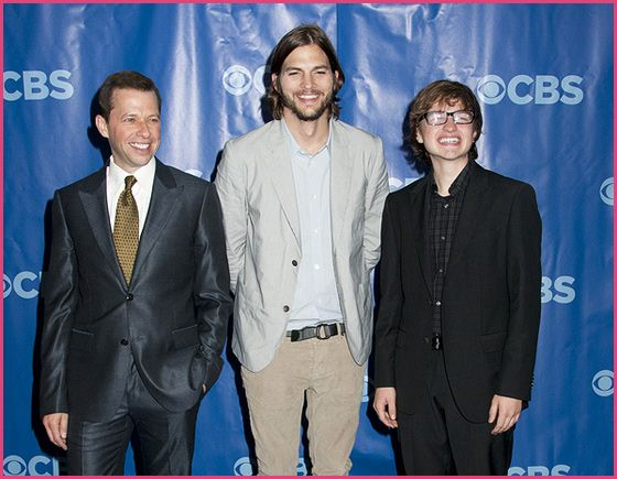 Ashton Kutcher Two and A Half Men Cast