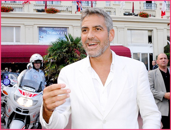 George Clooney Deauville 2007