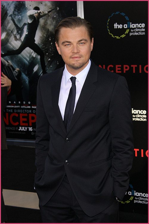 Leonardo DiCaprio Inception Premiere