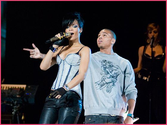 Rihanna Chris Brown 2008