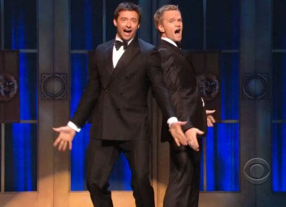 Hugh Jackman Neil Patrick Harris Tony Awards Hugh Jackman & Neil Patrick Harris: Hosting Battle bei den Tony Awards!