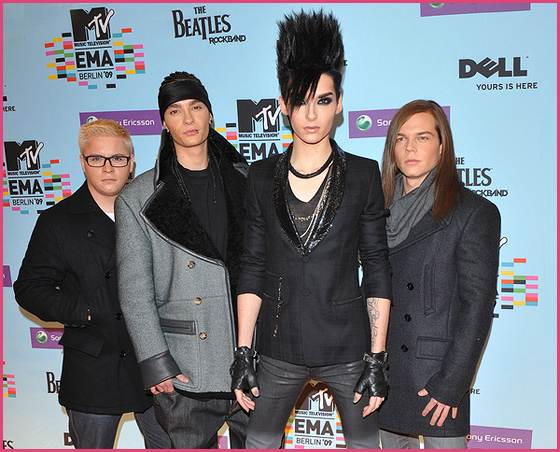 Tokio Hotel MTV Awards 2009