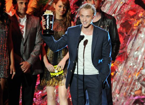 Tom Felton MTV Movie Awards 2011 Gewinner