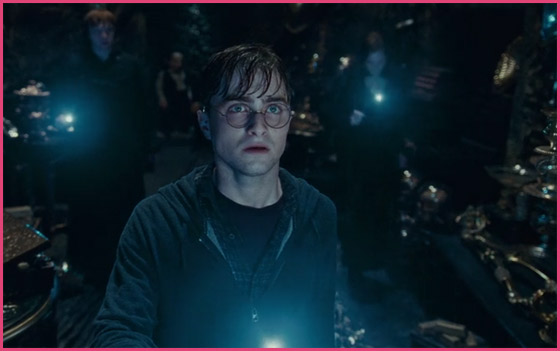 Harry Potter 7.2. Schatzkammer Harry Potter 7.2: Daniel Radcliffe jagt einen Horkrux!