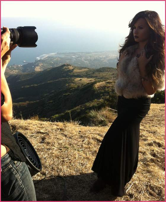 Demi-Lovato-Unbroken-Covershooting