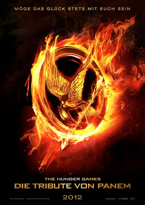Hunger Games Tribute von Panem Filmposter The Hunger Games: Neue Poster mit Liam Hemsworth und Jennifer Lawrence