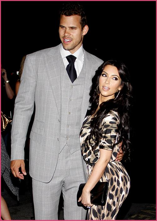 Kim Kardashian Kris Humphries Kardashian Collection Launch Kim Kardashian & Kris Humphries reichen Scheidung ein!
