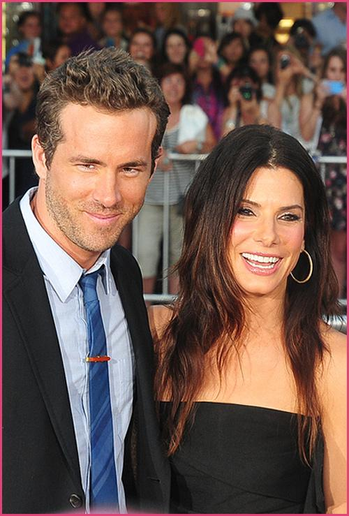 Ryan Reynolds Sandra Bullock The Change Up Premiere Sandra Bullock hat nichts mit Ryan Reynolds