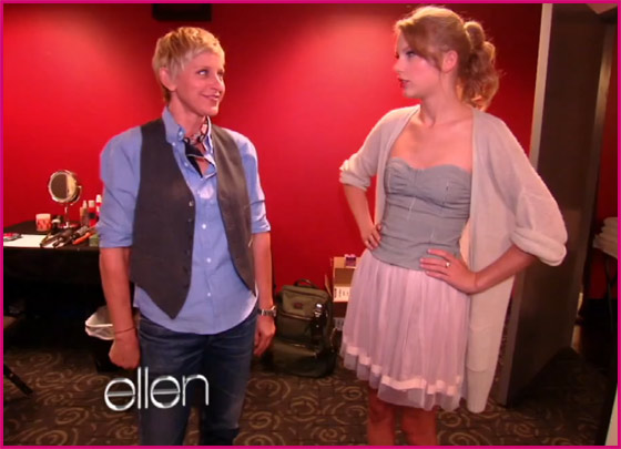 Ellen-DeGeneres-Taylor-Swift-Backstage-Konzert
