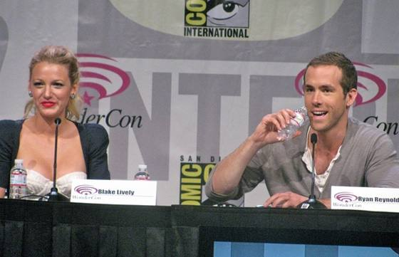 Blake Lively Ryan Reynolds Comic Con Blake Lively und Ryan Reynolds haben geheiratet!