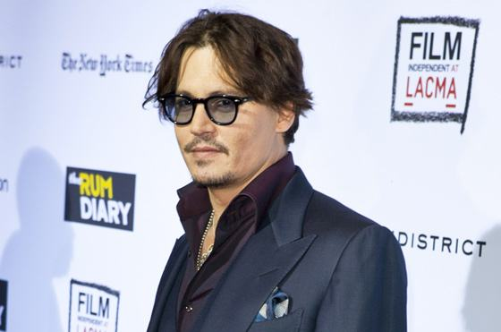 Johnny Depp Rum Diary Premiere Los Angeles 2 Johnny Depp wegen Bodyguards angeklagt!