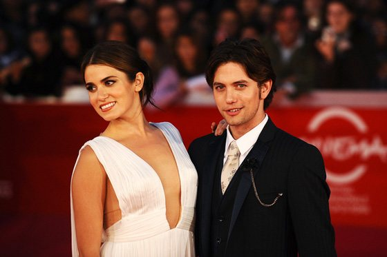 Nikki Reed Jackson Rathbone Breaking Dawn Rom Premiere Jackson Rathbone & Nikki Reed: Breaking Dawn Premiere in Rom