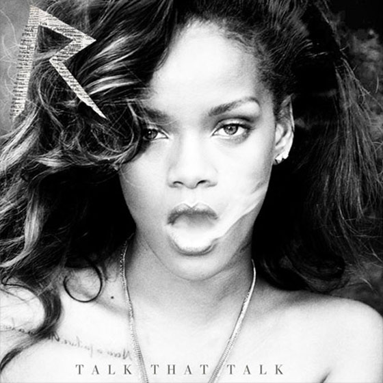 Rihanna Talk That Talk Album Cover Deluxe