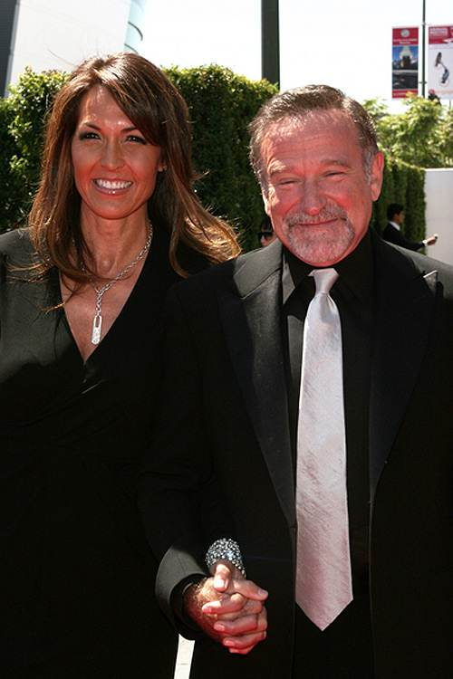 Robin Williams Susan Schneider Creative Emmy 2010 Robin Williams hat zum dritten Mal geheiratet!