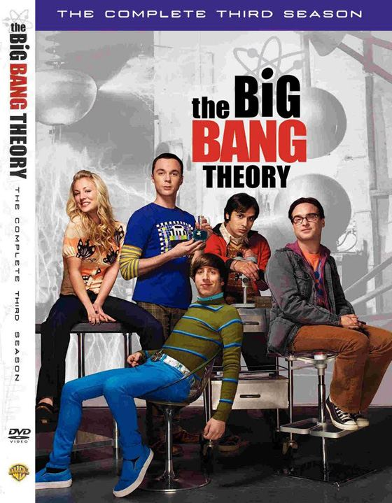 The Big Bang Theory DVD Staffel 3 DVD Review zur The Big Bang Theory (Staffel 3)