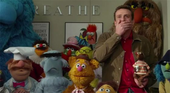The Muppets Trailer Jason Segal  Neuer Die Muppets Trailer mit Breaking Dawn Parodie