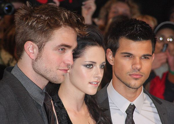 Breaking Dawn UK Premiere Robert Pattinson Kristen Stewart Taylor Lautner 3 Kristen Stewart: Kein Angebot für Fifty Shades Of Grey