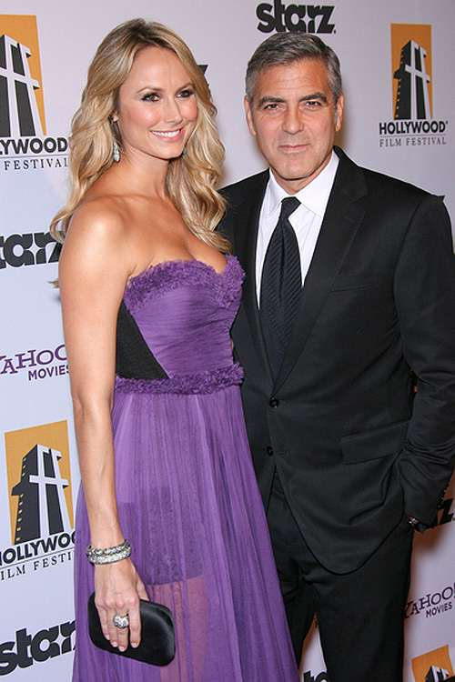 George-Clooney-Stacy-Keibler-Hollywood-Film-Awards
