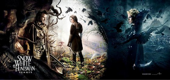 Snow White and the Huntsman Banner Kristen Stewart 560 Kristen Stewart & Charlize Theron drehen bald Schneewittchen Showdown