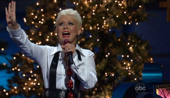 Christina Aguilera Christmas Disney 2011 Christina Aguilera   Have Yourself A Merry Little Christmas