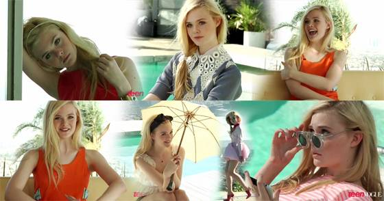 Elle Fanning Teen Vogue Covergirl Foto