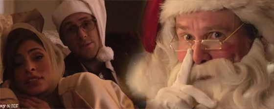 Eva Mendes Jim Carrey Funny or Die Eva Mendes und Jim Carrey in Drunk History Christmas