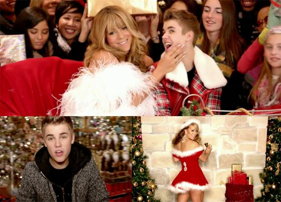 Justin-Bieber-Mariah-Carey-All-I-Want-For-Christmas-Is-You