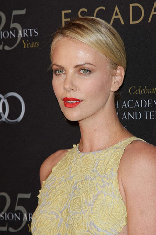 Charlize Theron BAFTA Party 2011 2