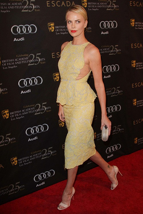 Charlize Theron BAFTA Party 2011 3