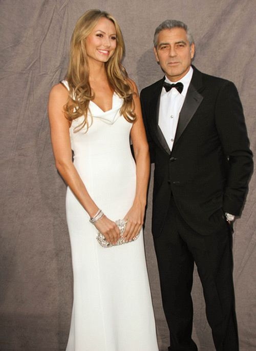 George Clooney Stacy Keibler Critics Choice Awards 4 George Clooney & Stacy Keibler: Trennungs Story frei erfunden