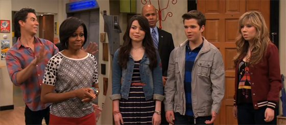 Michelle-Obama-iCarly
