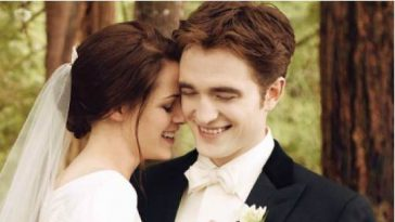 Robert Pattinson Kristen Stewart Breaking Dawn Hochzeit Jan 2012