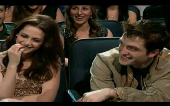 Robert Pattinson Kristen Stewart Peoples Choice 2011 Robert Pattinson: Ohne Kristen Stewart zu Peoples Choice Awards