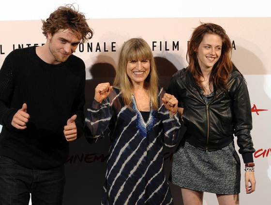 Robert Pattinson Kristen Stewart Twilight Photocall Rom Robert Pattinson & Kristen Stewart: Von Paris nach Los Angeles