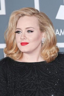 Adele Grammy Awards 2012 3 250x375 Adele pfeift auf Sex Sells