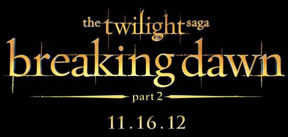 Breaking Dawn 2 Logo Breaking Dawn 2: Das finale Poster!