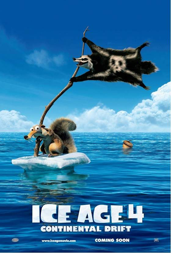 Ice-Age-Continental-Drift-Poster