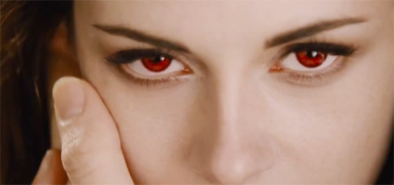 Kristen Stewart Bella Vampirin Teaser Trailer Breaking Dawn 2: Teaser Trailer in HD!