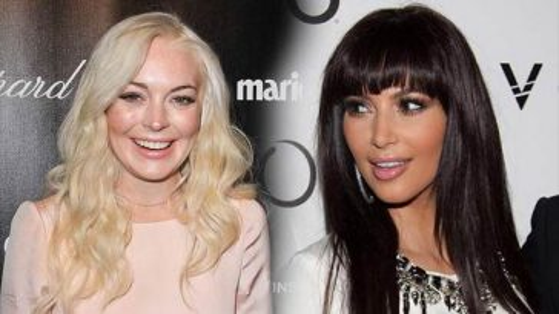Lindsay-Lohan-Kim-Kardashian