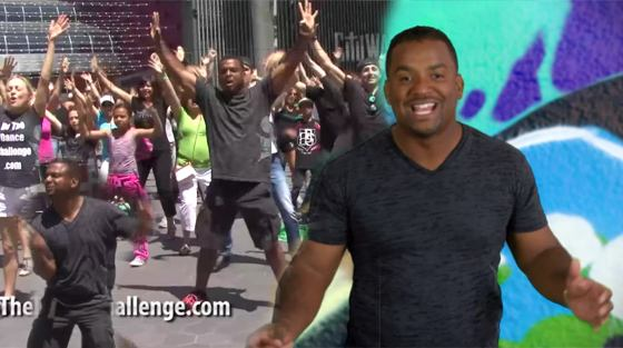 Alfonso Ribeiro Carlton Dance Flash Mob Alfonso Ribeiro: Carlton Dance Flash Mob!
