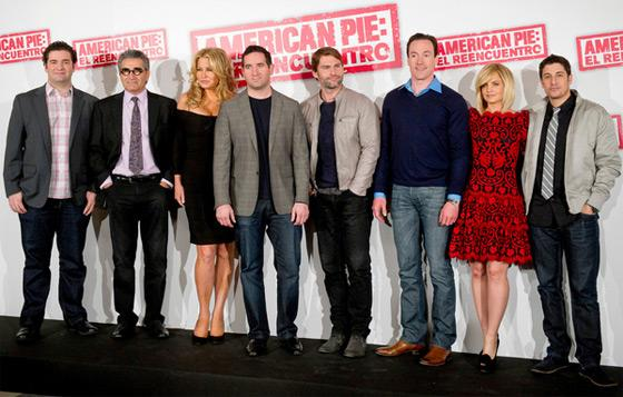 American Pie Madrid Photocall American Pie: Klassentreffen in Madrid