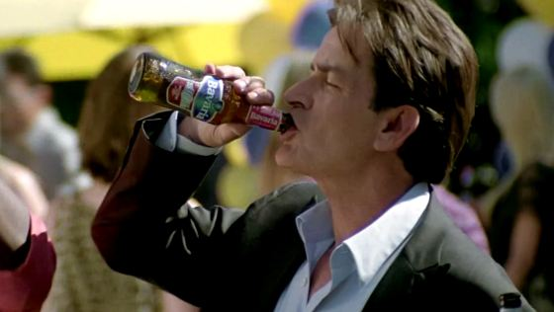Charlie-Sheen-Bierwerbung