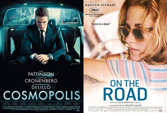 Cosmopolis On The Road Poster Robert Pattinson über Cannes Konkurrenzkampf mit Kristen Stewart