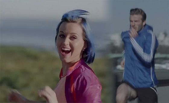 Katy Perry David Beckham Adidas Katy Perry und David Beckham: Adidas Werbespot