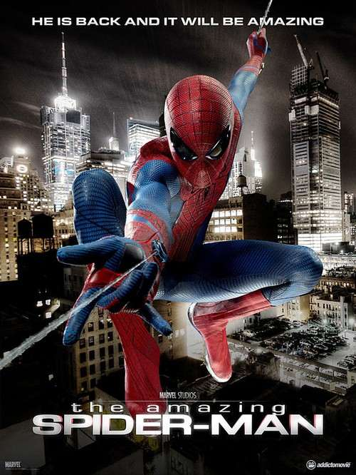 The Amazing Spider Man Poster Official The Amazing Spider Man: Neuer Trailer mit Andrew Garfield