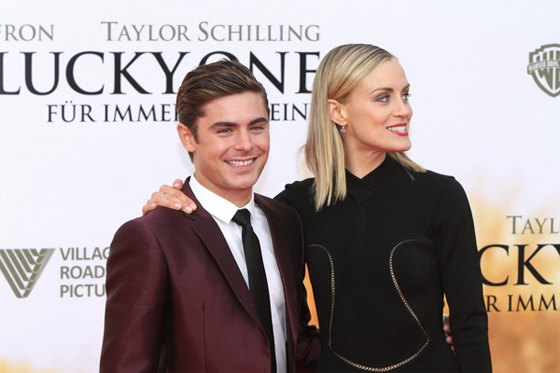Zac Efron Taylor Schilling The Lucky One Premiere Berlin 1 Zac Efron: The Lucky One Premiere Berlin