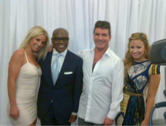 Britney Spears Demi Lovato X Factor Jury Demi Lovato: $1 Million für X Factor?
