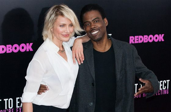 Cameron Diaz Chris Rock What To Expect Screening NY 3 Cameron Diaz: What To Expect When You're Expecting NY Screening