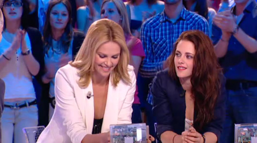 Charlize Theron Kristen Stewart Le Grand Journal Kristen Stewart & Charlize Theron bei Le Grand Journal