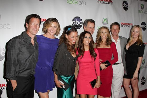 Desperate Housewives Cast Abschied 3 Desperate Housewives Abschlussparty ohne Teri Hatcher & Marcia Cross